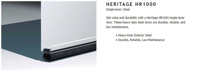 """alt=""""Heritage 1000 door construction"""""""