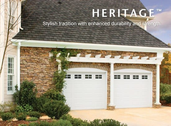 "alt="" Amarr HERITAGE 3000 door in white"""