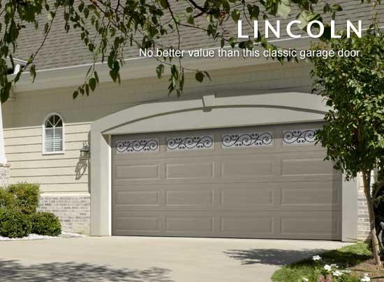 """alt=""""Amarr lincoln steel door in terratone"""""""