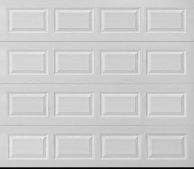 """alt=""""safe-way short panel door sample in white"""""""