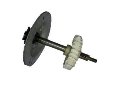worn opener gear ,result of a broken/neglected torquemaster spring.