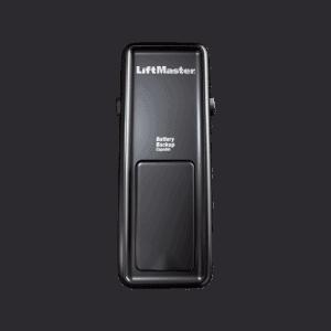 DC Battery Backup Capable Wall Mount Garage Door Opener