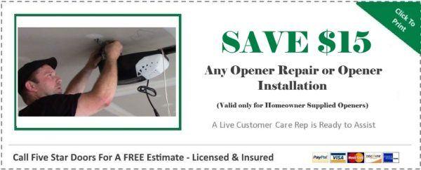 Opener Repair
