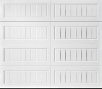 """alt="""" Amarr Long Bead Board garage door"""""""